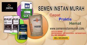 Promo semen instan murah berbagai merk